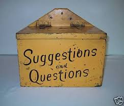 Start Boxes Suggestion Boxes Start The Conversation