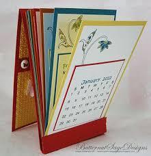 3d Paper Flower Calendar Desk Calendar Paper Crafts Creative Cards Card Making