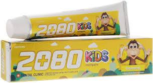 <b>Dental Clinic</b> 2080 <b>Зубная паста</b> Детская Банан 80г — купить в ...
