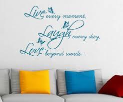 live laugh love e vinyl wall sticker decal