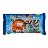 m m s chocolate cans pretzel