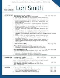 Resume Templates Teachers Custom Resume Format For Teachers Job Download Sample Of Teaching Teacher