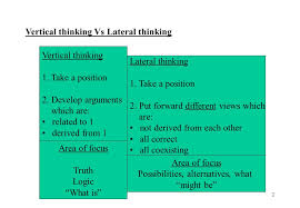Non Positional Thinking