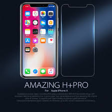 nillkin amazing h pro tempered glass screen protector for apple iphone x