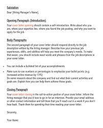 cover letter for resume sles