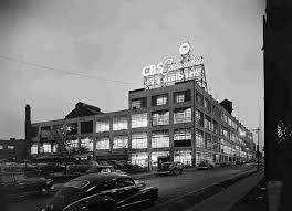 famous architectural photography. Fine Famous CBS Columbia Long Island City NY 1954 Intended Famous Architectural Photography