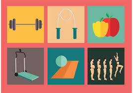 Diet And Excercise Diet And Exercise Vectors Download Free Vector Art Stock Graphics