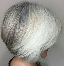 And one of the sexiest hair style is short bob. 20 Stylish Hairstyles For Short Grey Hair Over 60 4retirees