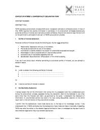Submit Conflict Of Interest Declaration Form For Procurement Samples ...