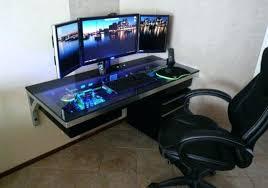 Popular Desk Computer Pertaining To Diy Gaming Desktop Plan 8