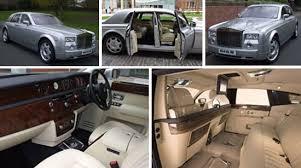 rolls royce phantom white interior. silver rolls royce hire wedding car phantom white interior