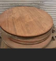 round wood table top leg s not included tops only brand new