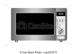 microwave clipart. illustration of microwave oven isolated on white background. - csp3473711 clipart