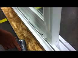 how to remove a sliding glass door paradigm windows removing stationary panel on patio you