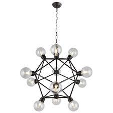 new axis chandelier sputnik lamp smoke crystal bar orbit chandelierceiling lights