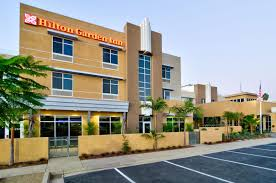 exterior image of the hilton garden inn in goleta