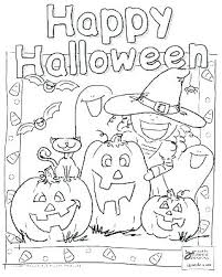 Happy Halloween Coloring Page Images Of Coloring Pages For Toddlers