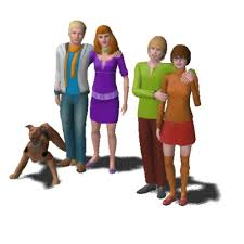 The Scooby-Doo Gang by calimous - The Exchange - Community - The Sims 3