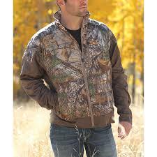 Cinch Jacket Size Chart Cinch Mens Realtree Pieced Zip Up Jackets Camo