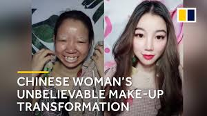 chinese woman s unbelievable make up transformation