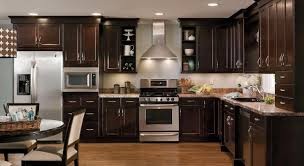 Of Kitchen The Charm In Dark Kitchen Cabinets