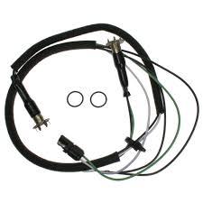 mustang hood mounted turn signal wiring harness 1969 1970 wiring harness for 69 mustang at 1969 Mustang Wiring Harness