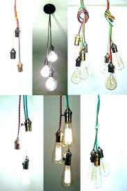 3 bulb pendant light vintage included ceiling led includ