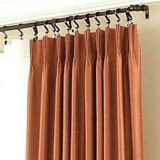 pinch pleated thermal dries medium size of patio door curtain rods without center bracket draw ds for sliding glass pleat doors
