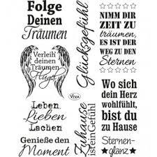 Clear Stamps Sprüche 2 14 X 18 Cm Bastel Welt Schobes