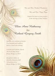 peacock invitations 25 peacock wedding invitation templates free sample example