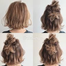 おめかしヘアは甘めが正解簡単スイートヘアアレンジ10選 Hair