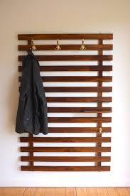 Brass Coat Rack Wall Mounted Modern Wall Mounted Coat Rack Ideas To Impress You Midcentury 44
