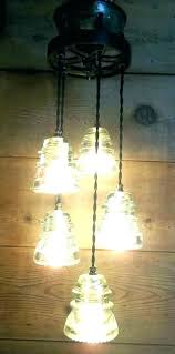 glass insulator lamp insulator lamp glass insulator light pendant lights s kit solar glass insulator lamp