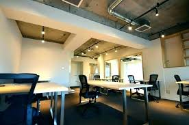 Basement Office Design Magnificent Open Ceilings Design Open Ceiling Design House Emilytocco