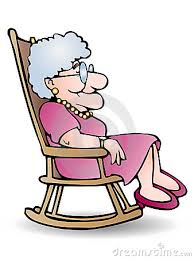 rocking chair clipart. Grandmother Rocking Chair Clipart #1 S