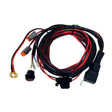 rigid industries d2 wiring harness for pair black rhino rigid industries d2 wiring harness