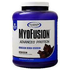 Gaspari Nutrition <b>MyoFusion Advanced Protein Milk</b> Chocolate 4 lbs ...
