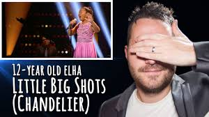 little big shots 12 year old crushes sia s chandelier reaction