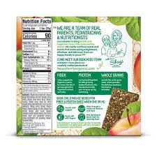 Organic <b>Fiber & Protein</b> Apples, Spinach Oat Bar   Shop Happy