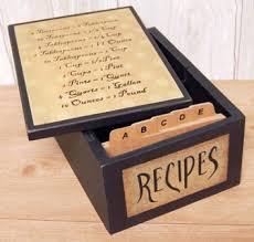 Decorative Recipe Box Recipe Box Red Gate Farm 16