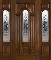 Fiberglass Entry Doors With Sidelights Door Design Ideas On