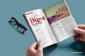 75 Free Psd Magazine Book Cover Brochure Mock Ups