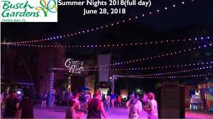 busch gardens tampa 2018 summer nights full day june 28 2018