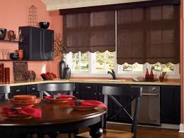 ... Image Of Adorable Pull Down Kitchen Light Above Burnt Orange Dinnerware  Set And Red Linen Napkins ...