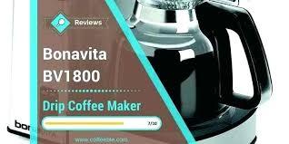 8 cup coffee brewer maker review glass carafe bonavita 1900 1800 vs c