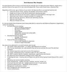Business Plan Proposal Template Word Business Plan Templates 43 ...