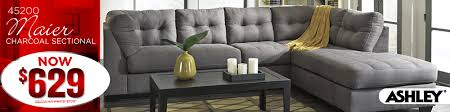 home furniture montgomery al. Maier 45200 Charcoal Sectional Throughout Home Furniture Montgomery Al