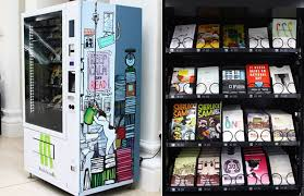 Book Vending Machine Impressive Now You Can Buy Books From A Vending Machine At The National Museum