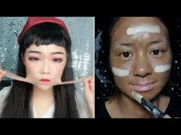 asian makeup transformation makeup removal challenge the power of makeup before after make up