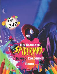 Christmas giant coloring activity book 1992 color holiday. The Ultimate Spider Man Jumbo Coloring Book Age 3 12 Great Coloring Book For Kids For Boys And Girls High Quality Illustrations For Coloring By Iron Press